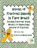 Visual Models to Understand Division of Fractions Problems - Holiday Version