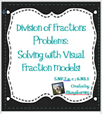 Division of Fractions Problems: Solving with Visual Fracti