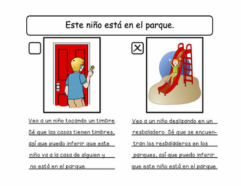 Bilingual Spanish/English Using Visual Supports to Teach Inferences