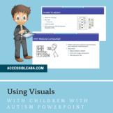 Using Visuals Parent Training