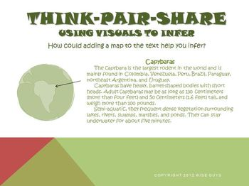 Using Visuals to Infer Reading Strategy PowerPoint