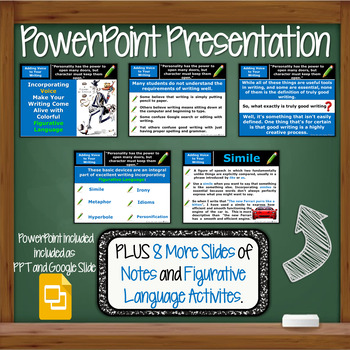 Figurative Language Introduction Activity - PowerPoint ...
