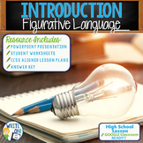FIGURATIVE LANGUAGE INTRODUCTION - High School