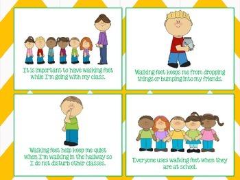 using walking feet social story school by kohateacher7 tpt