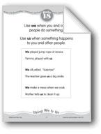 Using 'We' & 'Us'
