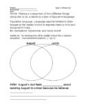 "Using ""Wonder"" to teach similes and metaphors"