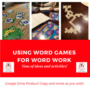 Using Word Games for Word Study
