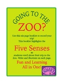 Using Your Five Senses on Your ZOO Field Trip!!!