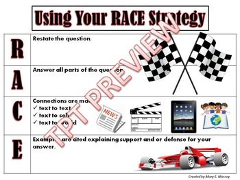 Using Your RACE Reading Strategy
