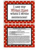 Using Your Writer Eyes