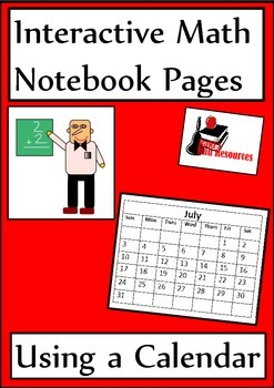 Using a Calendar Lesson for Interactive Math Notebooks