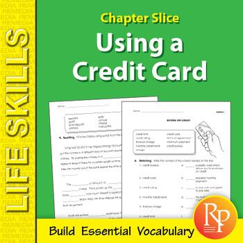 Using a Credit Card Life Skills Unit