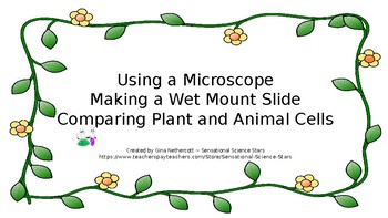 Using a Microscope - Making a Wet Mount Slide