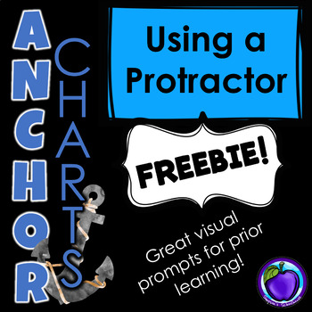 Using a Protractor Anchor Chart