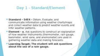 Teaching Rain Gauges using a Phenomenon