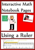 Using a Ruler Lesson for Interactive Math Notebooks