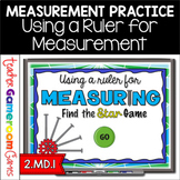 Using a Ruler for Measuring Powerpoint Game Distance Learning