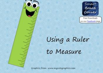 Using a Ruler to Measure Smart Board Lesson