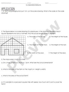 Using a Scale (Ratios) Lesson Bundle