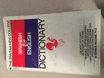 Using a Spanish Dictionary