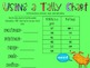 Using a Tally Chart (to find maximun, minimum, range, median and mode)