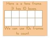 Using a Tens Frame Flipchart