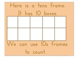 Using a Tens Frame Flipchart