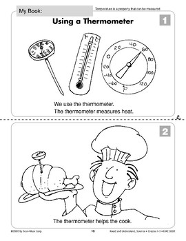 Using a Thermometer (Physical Science/Heat, Temperature)
