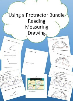 Using a protractor worksheets