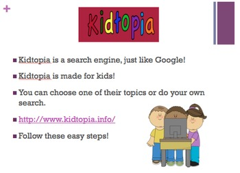 Using a search engine lesson - English and Spanish