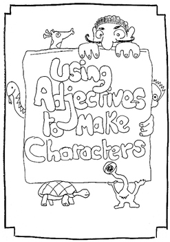 Using adjectives to make characters