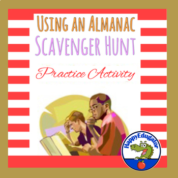 Using an Almanac Scavenger Hunt