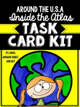 Using an Atlas Task Card Kit- United States