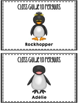 Library Skills: Index in the School Library Media Center: Penguin Theme