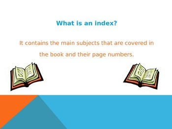 Using an Index