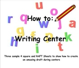 Using an organizer to set up your writing