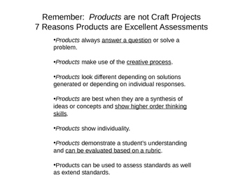 Using and Evaluating Student Products - Spice it Up!  Free!