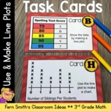 Using and Making Line Plots Task Cards