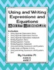 Using and Writing Expressions and Equations Bundle- 6.EE.6