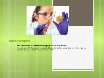 Using and understanding microscopes