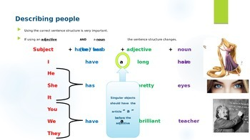 "Using ""(be) verbs"" and ""have"" Grammar Lecture"
