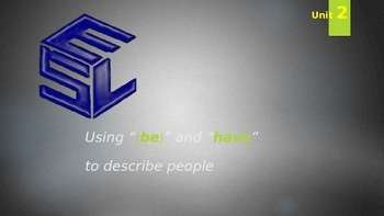 """Using """"(be) verbs"""" and """"have"""" Grammar Lecture"""