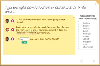 Using comparatives and superlatives