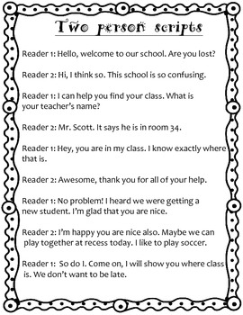 Using expression- Reader's Theater or Fluency- FREE for first 5 downloads