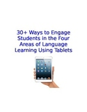 Spanish Class iPad Activities Organized by Reading Writing Listening Speaking