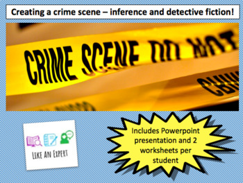 Using inference to create a detective crime scene - full lesson