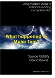 Using modern music for reading comprehension - Space Oddity