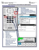 Using numericalSolve on the Texas Instruments N-Spire Grap