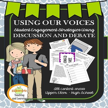 Using our Voices - Cooperative Learning through Discussion and Debate