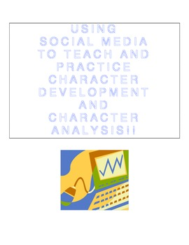 Character Analysis using a Facebook Template